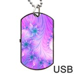 Delicate Dog Tag USB Flash (Two Sides)