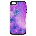 Delicate Apple iPhone 5 Hardshell Case (PC+Silicone)