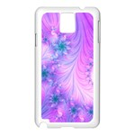 Delicate Samsung Galaxy Note 3 N9005 Case (White)