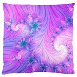 Delicate Large Flano Cushion Case (Two Sides)