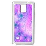 Delicate Samsung Galaxy Note 4 Case (White)
