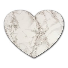 Marble Background Backdrop Heart Mousepads from DesignYourOwnGift.com Front