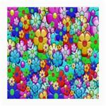 Flowers Ornament Decoration Medium Glasses Cloth