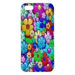 Flowers Ornament Decoration Apple iPhone 5 Premium Hardshell Case