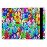 Flowers Ornament Decoration Samsung Galaxy Tab Pro 12.2  Flip Case