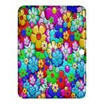 Flowers Ornament Decoration Samsung Galaxy Tab 4 (10.1 ) Hardshell Case
