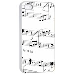 Abuse Background Monochrome My Bits Apple iPhone 4/4s Seamless Case (White)