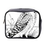 Animal Bird Forest Nature Owl Mini Toiletries Bag 2-Side
