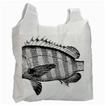 Animal Fish Ocean Sea Recycle Bag (Two Side)