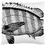 Animal Fish Ocean Sea Large Cushion Case (Two Sides)
