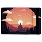 Design Art Hill Hut Landscape iPad Air 2 Flip