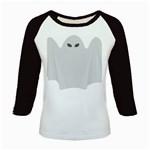 Ghost Halloween Spooky Horror Fear Kids Baseball Jerseys
