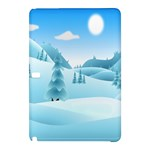Landscape Winter Ice Cold Xmas Samsung Galaxy Tab Pro 12.2 Hardshell Case