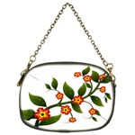 Flower Branch Nature Leaves Plant Chain Purses (Two Sides)