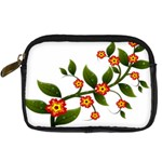Flower Branch Nature Leaves Plant Digital Camera Cases