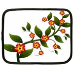 Flower Branch Nature Leaves Plant Netbook Case (XXL)