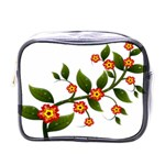 Flower Branch Nature Leaves Plant Mini Toiletries Bags