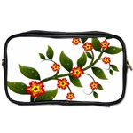 Flower Branch Nature Leaves Plant Toiletries Bags