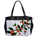 Flower Branch Nature Leaves Plant Office Handbags