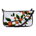 Flower Branch Nature Leaves Plant Shoulder Clutch Bags