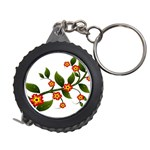 Flower Branch Nature Leaves Plant Measuring Tape