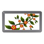 Flower Branch Nature Leaves Plant Memory Card Reader (Mini)