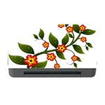 Flower Branch Nature Leaves Plant Memory Card Reader with CF