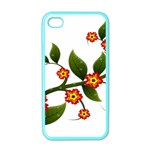 Flower Branch Nature Leaves Plant Apple iPhone 4 Case (Color)