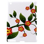 Flower Branch Nature Leaves Plant Apple iPad 3/4 Hardshell Case (Compatible with Smart Cover)