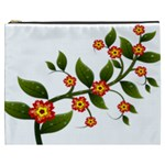 Flower Branch Nature Leaves Plant Cosmetic Bag (XXXL)