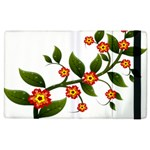 Flower Branch Nature Leaves Plant Apple iPad 2 Flip Case