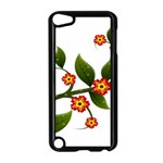 Flower Branch Nature Leaves Plant Apple iPod Touch 5 Case (Black)