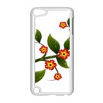 Flower Branch Nature Leaves Plant Apple iPod Touch 5 Case (White)