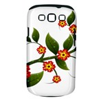 Flower Branch Nature Leaves Plant Samsung Galaxy S III Classic Hardshell Case (PC+Silicone)