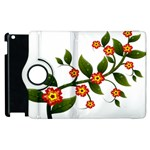 Flower Branch Nature Leaves Plant Apple iPad 3/4 Flip 360 Case