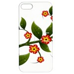 Flower Branch Nature Leaves Plant Apple iPhone 5 Hardshell Case with Stand