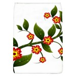 Flower Branch Nature Leaves Plant Flap Covers (L)