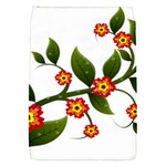 Flower Branch Nature Leaves Plant Flap Covers (S)