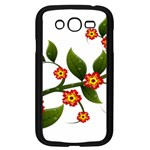 Flower Branch Nature Leaves Plant Samsung Galaxy Grand DUOS I9082 Case (Black)