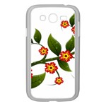Flower Branch Nature Leaves Plant Samsung Galaxy Grand DUOS I9082 Case (White)