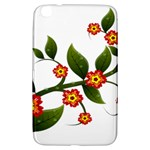 Flower Branch Nature Leaves Plant Samsung Galaxy Tab 3 (8 ) T3100 Hardshell Case