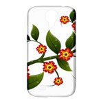 Flower Branch Nature Leaves Plant Samsung Galaxy S4 Classic Hardshell Case (PC+Silicone)