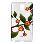 Flower Branch Nature Leaves Plant Samsung Galaxy Note 3 N9005 Hardshell Case