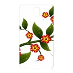 Flower Branch Nature Leaves Plant Samsung Galaxy Note 3 N9005 Hardshell Back Case