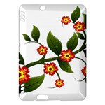 Flower Branch Nature Leaves Plant Kindle Fire HDX Hardshell Case