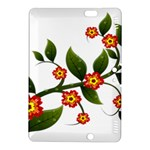 Flower Branch Nature Leaves Plant Kindle Fire HDX 8.9  Hardshell Case