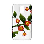 Flower Branch Nature Leaves Plant Samsung Galaxy S5 Hardshell Case