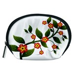 Flower Branch Nature Leaves Plant Accessory Pouches (Medium)