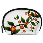 Flower Branch Nature Leaves Plant Accessory Pouches (Large)