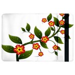 Flower Branch Nature Leaves Plant iPad Air 2 Flip